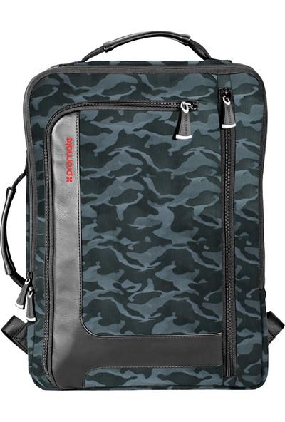 Promate Quest-Bp Notebook Laptop Sırt Çantası Çoklu Evrak Gözlü 15,6 inç
