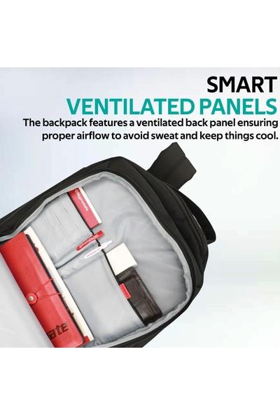 Promate Porter-Bp Notebook Laptop Sırt Çantası Suya Dayanıklı 16 inç