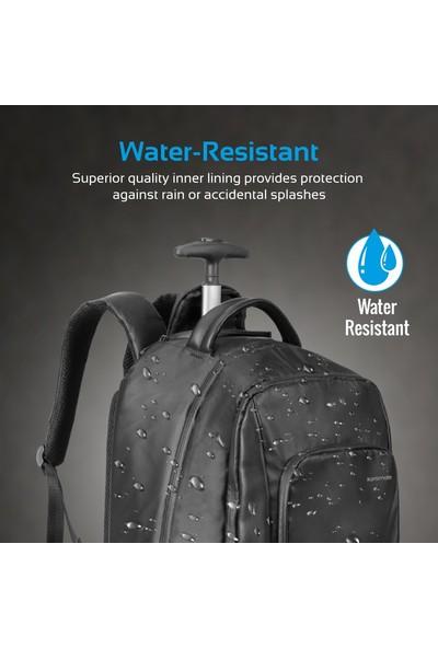 """Promate Transit-TR 15.6"""" Tekerlekli Laptop Notebook Sırt Çantası"""