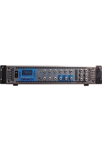 Denox Dyz 250-250 W 6 Bölgeli Mixer Amfi