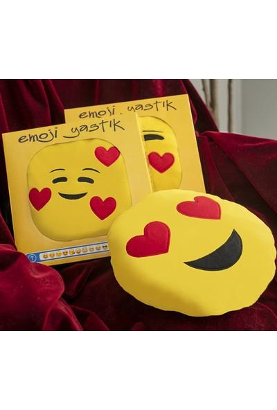 Favore Casa 3 Adet Emoji Yastık 35 x 35 cm