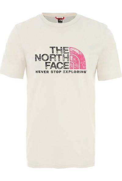 The Northface Erkek S/s Rust - Beyaz
