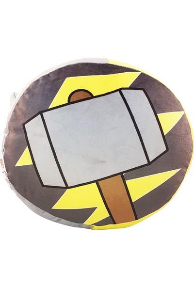 Miniso Marvel Çift Taraflı Dekoratif Yastık Thor