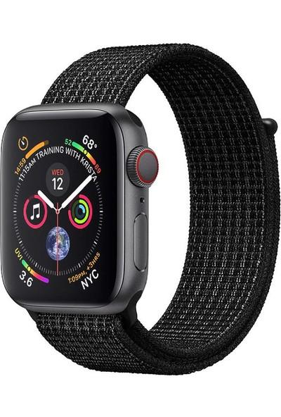 Promate Fibro-38 Apple Watch Saat Kordonu Naylon Örgülü Dokuma 38mm