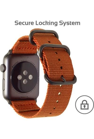 Promate Nylox-38 Apple Watch Saat Kordonu Metal Tere Dayanıklı 38mm