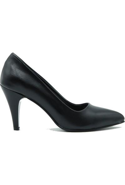 Arıcı Kadın Topuklu Ayakkabı 421 Siyah