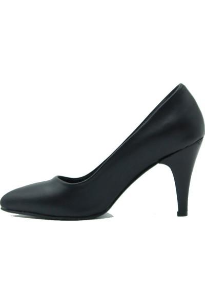 Arıcı Kadın Topuklu Ayakkabı 421 Siyah Cilt