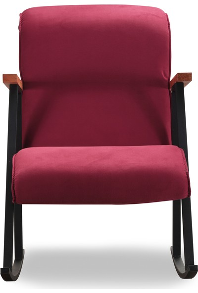 Pafu Yoka Sallanan Sandalye Bordo