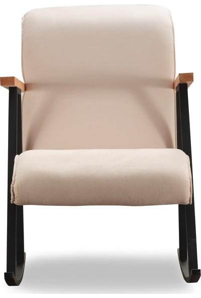 Pafu Yoka Sallanan Sandalye Krem