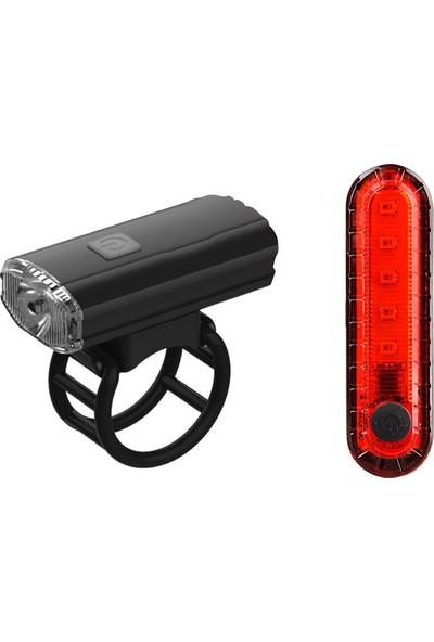 Epic Quickset USB Şarjlı Ön Arka Bisiklet Aydınlatma Seti FST-403