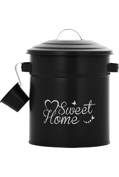 İndirimse Home İndirimse Ölçekli Deterjan Kutusu Siyah