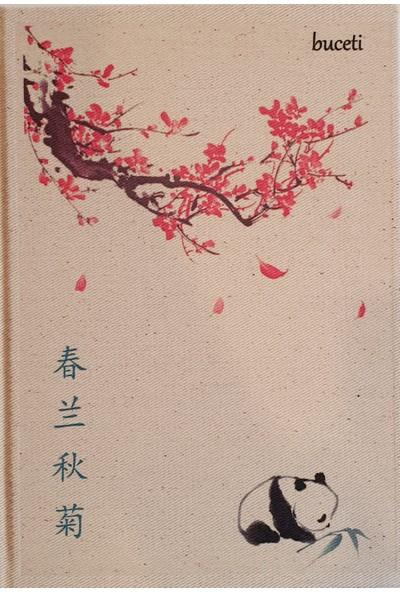Buceti 1801 Çince Kapaklı Defter 14,5 x 20 cm