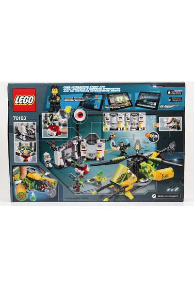 LEGO Ultra Agnts 70163 Toxikita's Toxic Meltdown