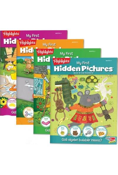 My First Hidden Pictures 4'lü Set Benim Ilk Gizli Resimlerim - 3 - 6 Yaş Eğlenceli Eğitici Aktivite Kitabı