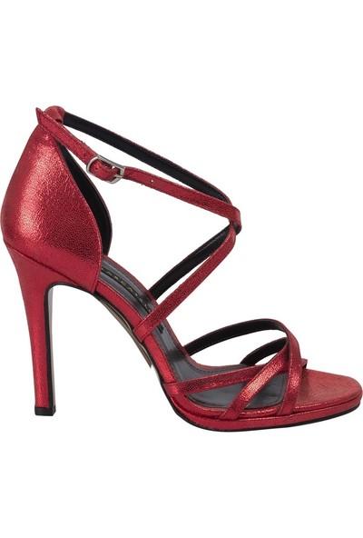 Marcamiss 7326 Kadın Klasik Ayakkabı Kırmızı