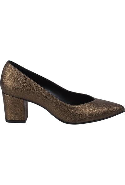Marcamiss 7433 Kadın Klasik Ayakkabı Bakır