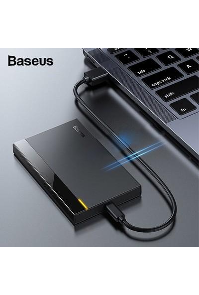 """Baseus Full Speed Series 2.5"""" Hard Disk Kutusu (Gen1) (Wiring Usb-A To Type-C 50 cm)"""