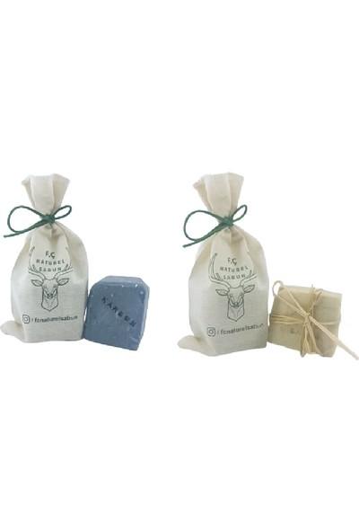 F. Ç. Naturel Sabunlar Isırgan Sabunu ve Karbon Sabunu 2'li Paket