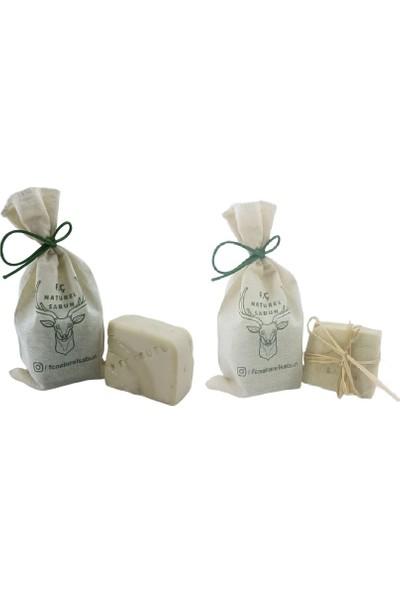 F. Ç. Naturel Sabunlar Isırgan Sabunu ve Keçi Sütü Sabunu 2'li Paket