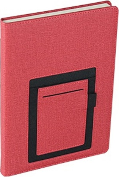 TERMO Telefon Cepli Kanguru Defter 15 x 21 cm Kırmızı