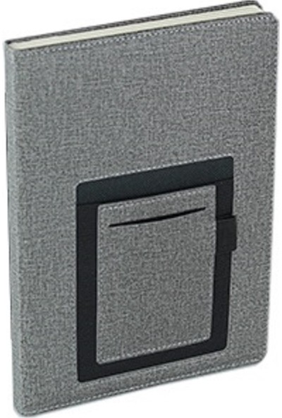 TERMO Telefon Cepli Kanguru Defter 15 x 21 cm Gri