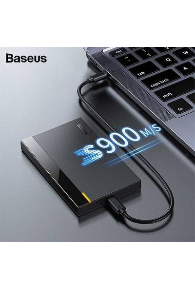 "Baseus Full Speed Series 2.5"" HDD (Gen2) Harddisk Kutusu (Type-C To Type-C 50 cm)"