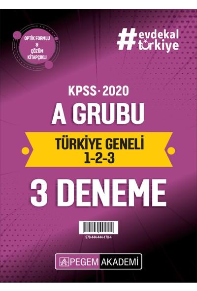 2020 Kpss Alan Bilgisi A Grubu Türkiye Geneli Deneme (1,2,3) (Hukuk-İktisat-Maliye-Muhasebe-İşletme)