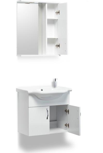 Hepsi Home Saydam MDF Banyo Dolabı 55 cm