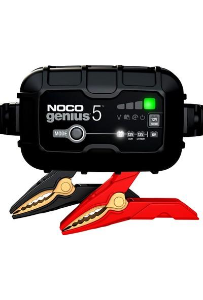 Noco Genius5 6V/12V 120A Akıllı Akü Şarj Ve Akü Bakım/Desülfatör