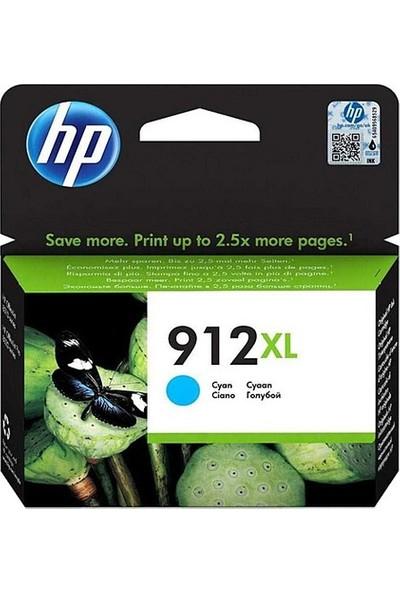 HP 912XL Mavi Mürekkep Kartuşu 3YL81A