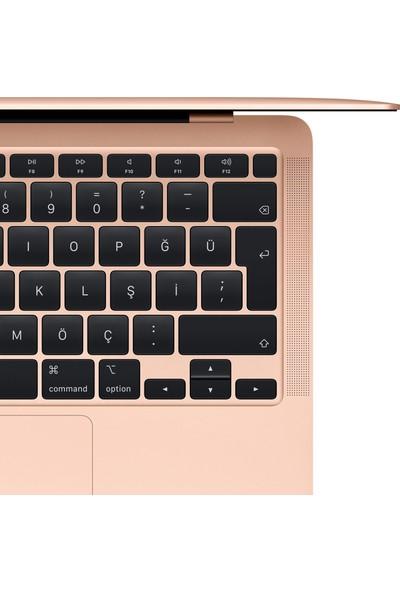 """Apple MacBook Air Intel Core i5 8210Y 8GB 128GB SSD macOS 13"""" Taşınabilir Bilgisayar MVFM2TU/A Gold"""