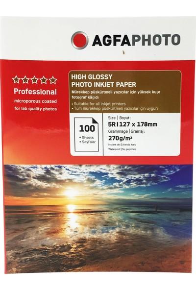 Agfa Photo İnkjet Kağıt 13x18Cm Glossy(Parlak)