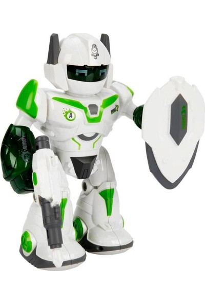 Sesli ve Işıklı Robot Fighter 22 cm
