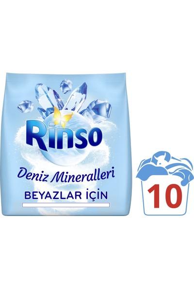 Rinso Deniz Mineralleri Beyazlar için Toz Çamaşır Deterjanı 1.5 KG 10 Yıkama