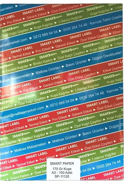 Smart Paper Kuşe Gramajlı Kağıt A3 100'lü 170 gr