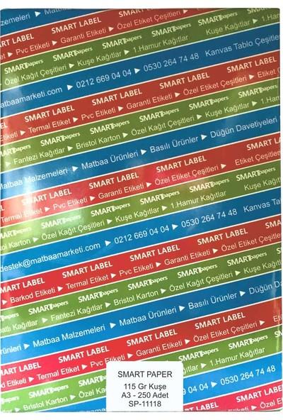 Smart Paper Kuşe Gramajlı Kağıt A3 250'li 115 gr