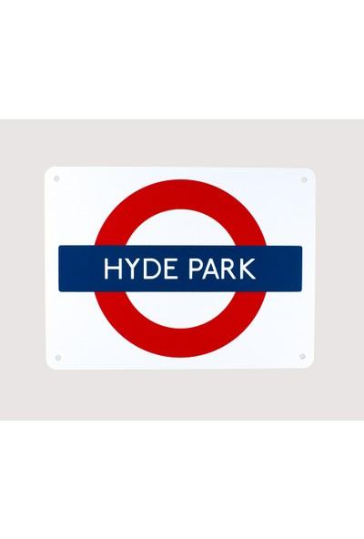 Carma Concept Hyde Park Underground Metal Tablo