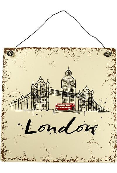 Carma Concept London Tower Bırıdge Metal Tablo
