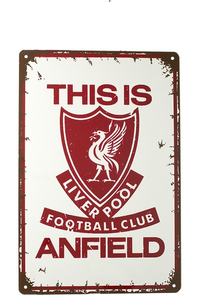 Carma Concept This Is Anfield Metal Tablo