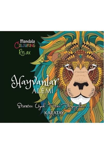 Büyükler Için Hayvanlar Alemi Mandala Boyama Kitabı