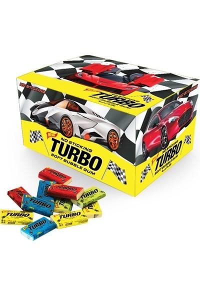 Turbo Sakız Tutti Frutti Şekerli Sakız 100 Adetli