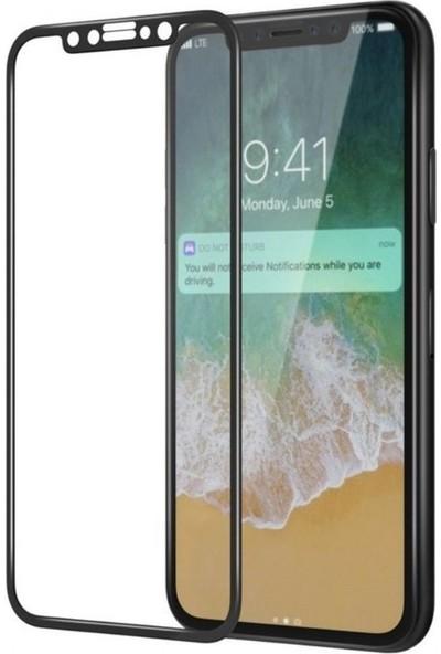 Bufalo Apple iPhone X/ XS Tam Kaplayan Nano Ekran Koruyucu Siyah