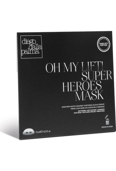 Diego Dalla Palma Oh My Lift! Superheroes Eye Mask - Göz Çevresi ve Alın Maskesi