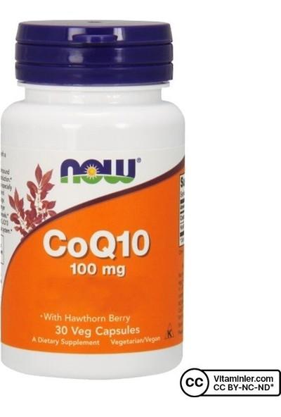 Now COQ10 100 Mg 30 Kapsül