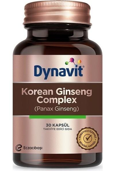 eczacıbaşı Dynavit Korean Ginseng Complex 30 Kapsül