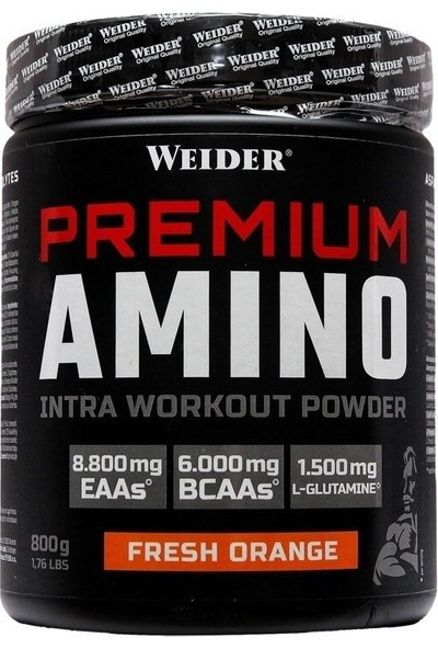 Weider Premium Amino Intra Workout Powder 800 gr Portakal