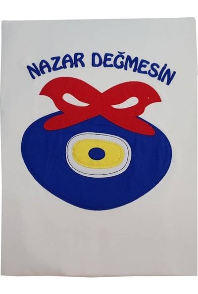 İzge Nazar Boncuklu Bebek Battaniye