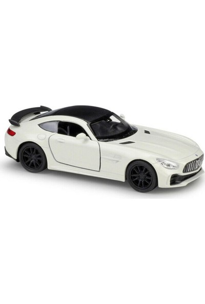 Welly Mercedes Amg Gt 1:36 Çek Bırak Metal Model Araba - Beyaz
