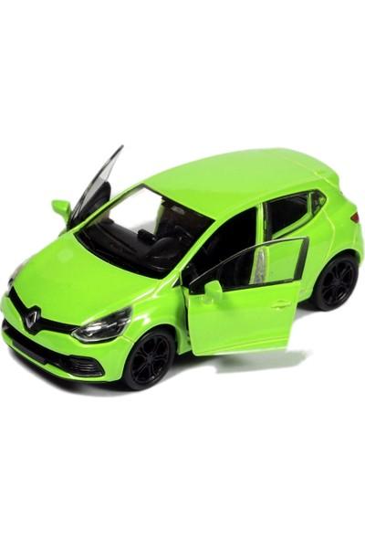 Welly 1:32 Renault Clio Rs Çek Bırak Metal Model Araba - Yeşil
