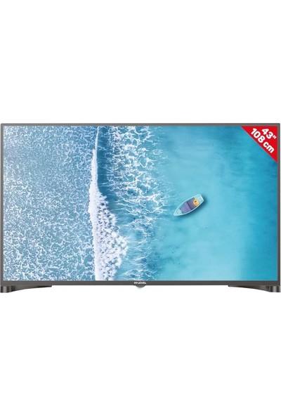 """Hi-Level HL43DLK13 43"""" 109 Ekran Uydu Alıcılı Smart Wi-Fi LED Tv"""